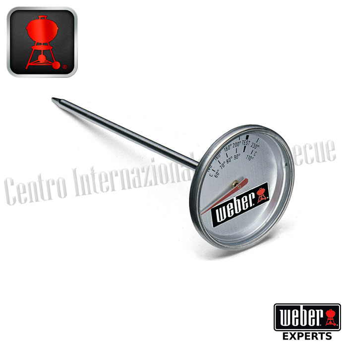 Termometro Di Ricambio Weber Centro Internazionale Del Barbecue I'm going to show you how to install a thermometer on the weber kettle grill. termometro di ricambio weber