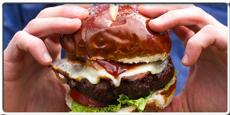 Hamburger Sweet Baby Ray's