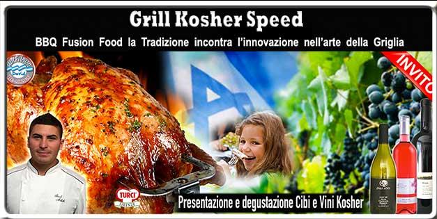 Grill Kosher Speed Domenica 13 Novembre