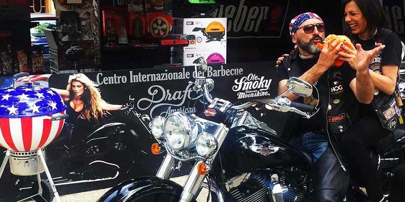 Reunion Rimini Harley Davidson Stand