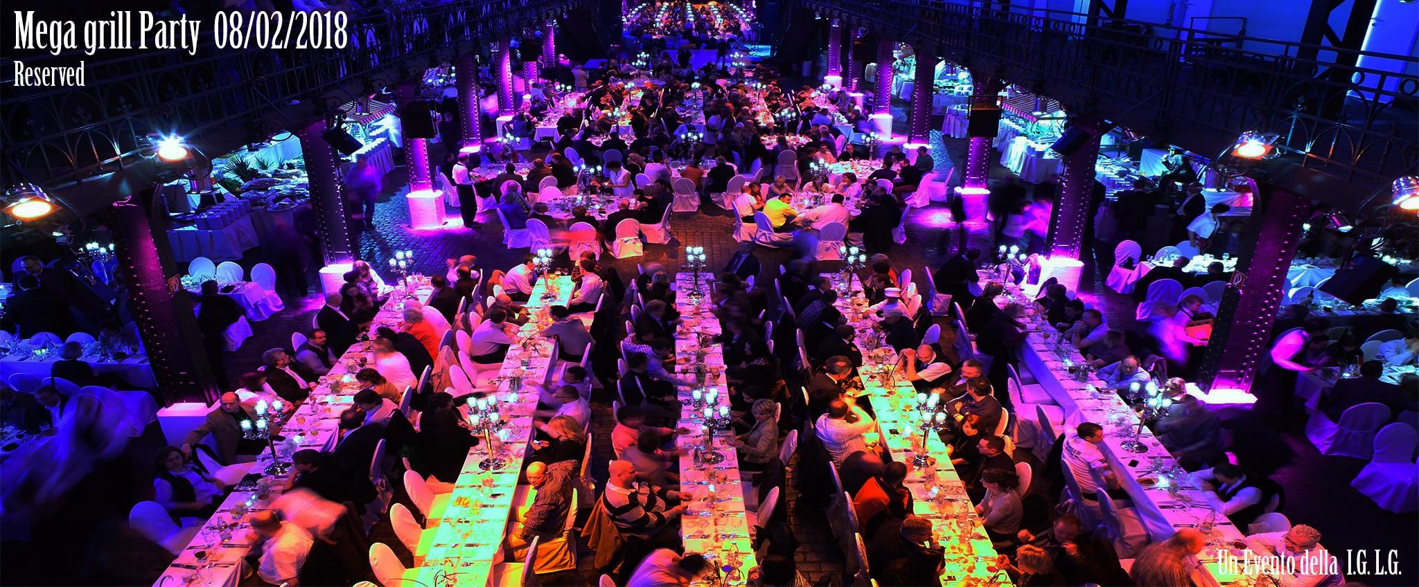 Mega Grill-Party