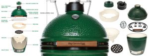 Ricambi Big Green Egg