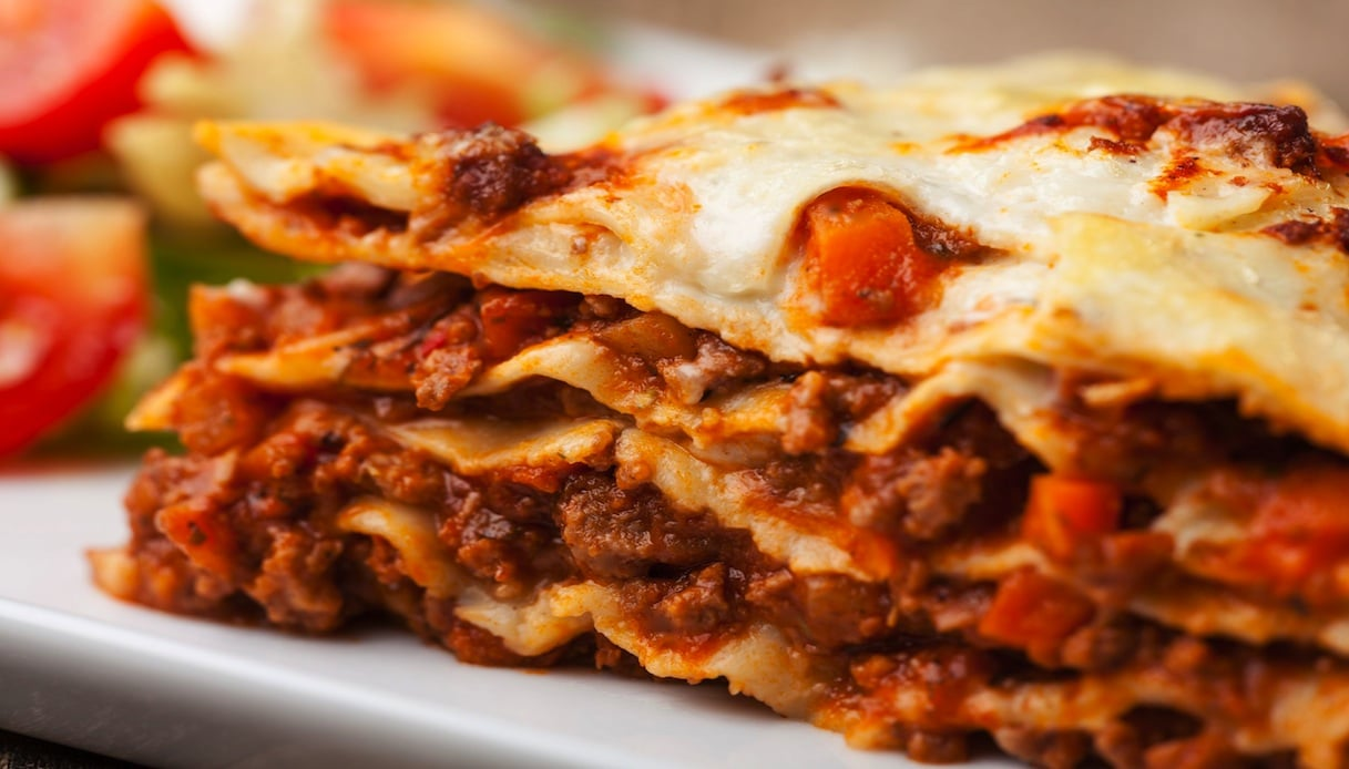 Lasagne alla Bolognese al Barbecue