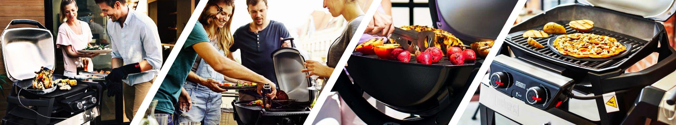 Barbecue Weber Elettrico Pulse & Q