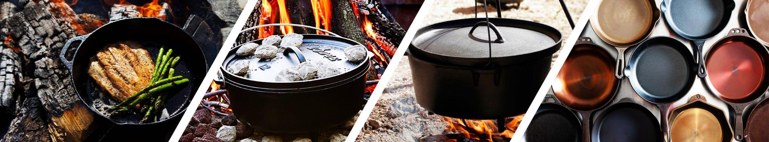 Lodge Cooking Indoor & outdoor
