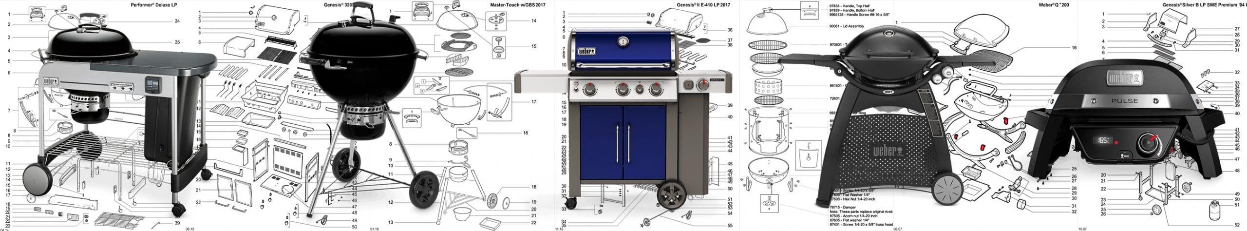 Ricambi Weber Q Gas